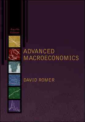 Advanced Macroeconomics By Colander, David